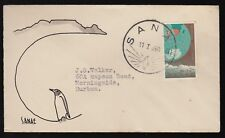 South Africa 1960 FDC Antarctic Expedition Queen Maud Island, Sanae Base
