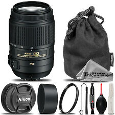 Nikon 55-300mm f/4.5-5.6G ED VR AF-S DX Nikkor Zoom Lens for D3200, D3300, D5200