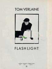 Tom Verlaine Television 'The Face' advert