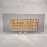 David Bowie Buffalo Memorial Auditorium Concert Ticket Stub Vintage Mar 19 1976