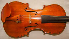 Brilliant Old Antique violin lab. Carlo Bisiach di Leandro 1928 - 30 Day Return