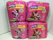 Pull-Ups Learning Designs for Girls Potty Training Pants, 3T-4T, 88 Count