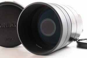 【TOP MINT】Minolta AF Reflex 500mm F/8 Mirror Lens For Sony Minolta A Mount JP