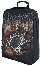 "Slipknot ""Grande Pentagrama"" ROCKSAX Mochila/Mochila Bolso De Skate-Nuevo"