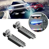 2x Wind Power 8LED Car Daytime Running Light Fog Lamp Car DRL Driving Day Lights