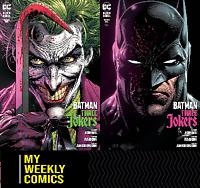 Batman Three Jokers #1 (2020 DC Comic) Fabok Cover Set A & B #95 96 97 98 99 100