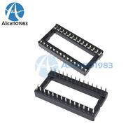 50PCS 28PIN 28 PIN DIP IC Socket Adaptor Solder WIDE Type Socket Pitch Dual Wipe
