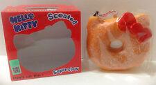 Sanrio Hello Kitty Rare Powdered Donut Squishy in Box Slow Rising New Japan