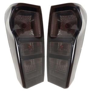 Tail Lamp Rear Light Smoke Black Tint For Isuzu D-max Dmax Holden Rodeo 2012-18