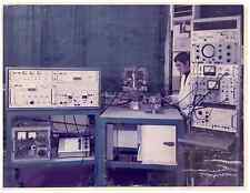 Italia, Ricerca applicata: spettrometro di massa sviluppato  .  Tirage argenti