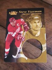 1996 97 Pinnacle Mint # 12 Steve Yzerman - Detroit Red Wings                  XX