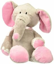 Burton Burton Elephant Plush Pink Gray Baby Toddler Girl & Blanket
