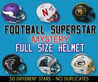 Schwartz Sports Football Stars Signed Mystery Full Size Helmet (Series 18) LE/50