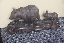 Austin Sculpture Vintage Bear 1998 Cub Figurine Rustic Cabin Lodge Decor Western