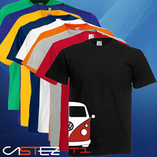 Camiseta furgoneta van basado vw t1 t2 surf camping volkswagen (ENVIO 24/48h)