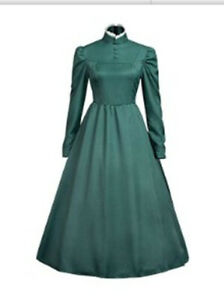 Howl's Moving Castle Sophie Hatter Wizard Girls Party Maid Dress Cosplay Costume