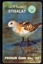 Rare UAE used Phone Cards UAE Wild Birds of The UAE