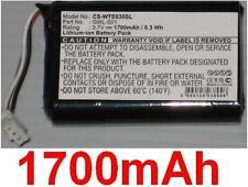Batterie 1700mAh type GWL-001 Pour Wacom CTE630BT