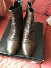 Excellent condition Ladies Phase Eight Brown Ankle Boots - Size 8