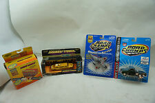 ROAD CHAMPS CAR LOT 4 TOYS SOUNDS OF POWER CHEVY PICKUP MINI MONSTER WHEELS