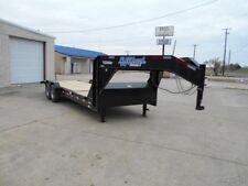 82 x 24 24ft Tilt Construction Equipment Tractor Loader Utility Cargo Trailer