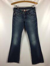 "Women's LUCKY BRAND 2/26 Fleur Carly Jeans Long Inseam Blue 29"" x 32.5"" Tall 2T"