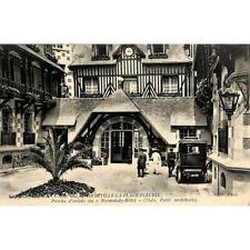"""[14] Deauville - Porte d'entrée du """"Normandy-Hôtel""""."""