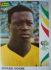 Panini 528 Mickael Dogbe Togo FIFA WM 2006 Germany