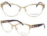 VERSACE Damen Brillenfassung MOD.1237 1352 53mm braun 538 52