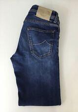 "Jacob Cohen Mens Skinny Slim Fit Jeans Type 622.C Blue Size 30 Leg 27.5"""