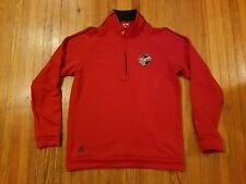 Adidas Indiana Fever Red Climalite Quarter Zip Sweatshirt Men's Size S