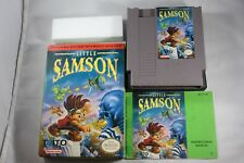 Little Samson (Nintendo Entertainment System NES) Complete GREAT