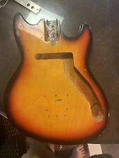 Vintage 1960's Teisco Del-Rey E-112 Japan Electric Guitar Body for project