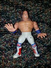 Hasbro Wwe Wwf Original 1992 Series 4 British Bulldog Action Figure Loose