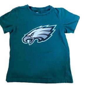 boys small 8 Philadelphia eagles t-shirt Football Green Short Sleeve