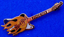 PHOENIX REVERSE FIREBIRD BLACK PRE OPENING FLAMES GUITAR 1995 Hard Rock Cafe PIN