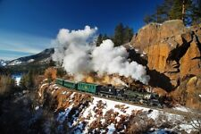 Durango Silverton 20x30 Photo picture steam train canvas art Denver & Rio Grande