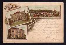 97935 AK Litho Misdroy 1896 Vorläufer Kurhaus Hotel Fritz Reinke Miedzyzdroje