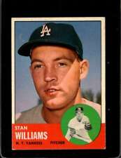 1963 TOPPS #42 STAN WILLIAMS EX YANKEES  *X00654