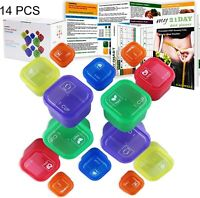 21 Day Portion Control Diet 14 Kit Diet Fix Weight Loss Guide Food Plan