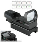 Red Green Illuminated Optics Dot Laser Sight Scope Air Rifle Gun Sniper Hunting