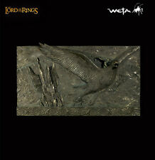 THE LORD OF THE RINGS : FLIGHT FROM ISENGARD WALL PLAQUE WETA CAVE