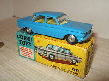 Rare Vintage Corgi Toys 229 Chevrolet Corvair & Original box