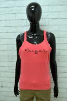 Maglia Maglietta Donna REEBOK Taglia 48 Shirt Woman Canottiera Top Sport Fitness