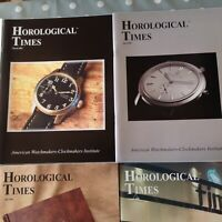 Horological Times Magazine 2003 Year Set 12