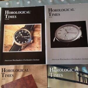 Horological Times Magazine 2003 Year Set 12