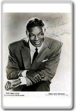 Nat King Cole Autographed Preprint Signed Photo Fridge Magnet