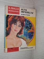 ALTA INFEDELTA Ellery Queen Il Giallo Mondadori 754 1963 libro narrativa storia
