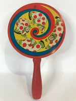 Tin Noise Maker with Circus Clowns Vintage -- U.S.A. by  T. Cohn