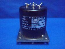 DYNATECH U-Z RF COAXIAL SWITCH M3-413K004 28VDC